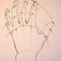 rysowanie dłoni - krok 4.