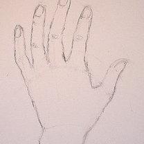 rysowanie dłoni - krok 5.