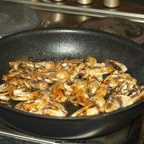smażenie grzybów