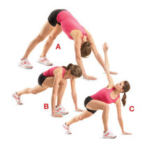 rozciąganie - ćwiczenie 8.