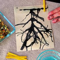 Jesienne drzewo - projekt dla dzieci 5