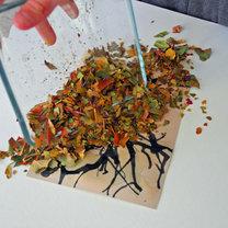 Jesienne drzewo - projekt dla dzieci 6