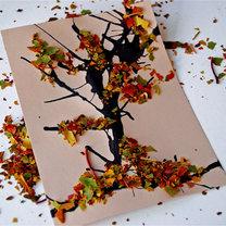 Jesienne drzewo - projekt dla dzieci 8
