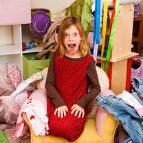 Bałagan w dziecięcym pokoju