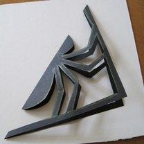 Pająk z papieru 2