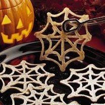 Ciasteczka pajęczyny na Halloween