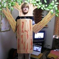 kostium drzewa