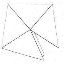 Parterowy dom z papieru - wzór 2