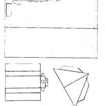 Dom z parteru z wymyślnym dachem - wzór 2