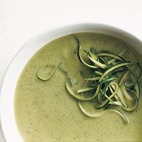 zupa z cukinii z bazylią