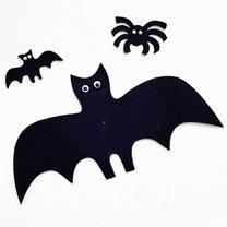 Pająki i nietoperze na Halloween