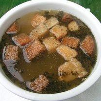 Zupa hiszpańska z czosnkiem