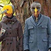Gotowa maska ptaka