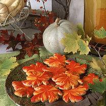 Ciasteczka w kształcie liści