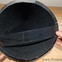 Robienie kapelusza czarownicy / czarodzieja 4