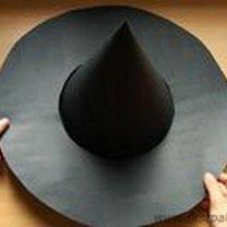 Robienie kapelusza czarownicy / czarodzieja 9