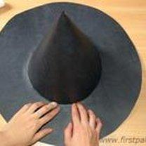 Robienie kapelusza czarownicy / czarodzieja 11