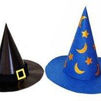 Kapelusz czarownicy z papieru