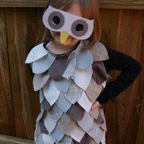 kostium sowy