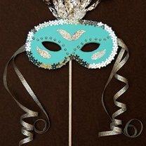 Maska na bal karnawałowy