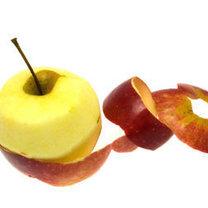 Obierki jabłek