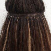 Przedłużanie włosów - mikroringi