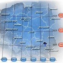 Pogodynka - mapa burzowa