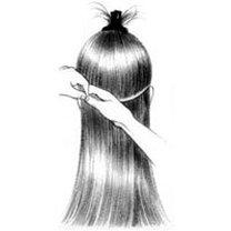 Przedłużanie włosów na taśmie