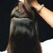Przedłużanie włosów klipsami 2
