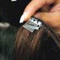 Przedłużanie włosów klipsami 3