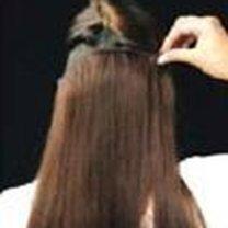 Przedłużanie włosów klipsami 5