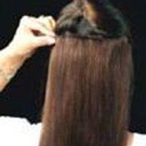 Przedłużanie włosów klipsami 6