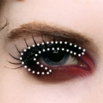 makijaż wampira - krok 4.