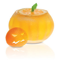 cytrusowy drink na Halloween