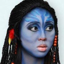 makijaż Neytiri z Avatara