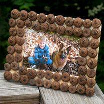 jesienna ramka na zdjęcia