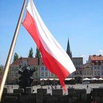 Flaga na maszcie