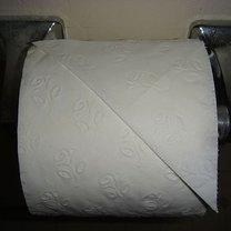 Origami na papierze toaletowym - serce 2
