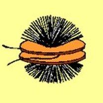 Przewiązywanie włóczki pomiędzy dwa pierścienie