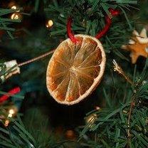 Pomarańcza na choince