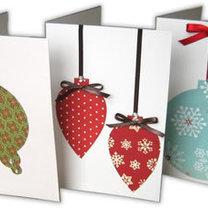 Kartki na Boże Narodzenie - zrób to sam