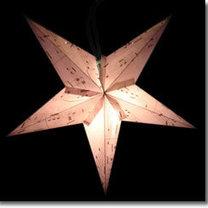Lampion w kształcie gwiazdy z papieru - zrób to sam