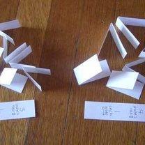 Robienie gwiazdki z papieru 2