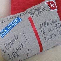 poduszka - pocztówka