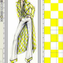 projektowanie ubrań w Photoshopie