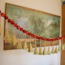 kalendarz adwentowy - piramidki