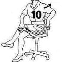 ćwiczenia na kręgosłup - krok 10.