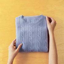 składanie swetra - krok 4.