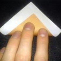 renifer origami - krok 2