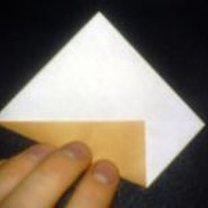 renifer origami - krok 4